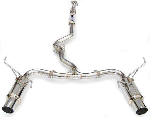 Invidia 15+ Subaru WRX/STI 4dr N1 Twin Outlet Single Layer Tip SS Cat-Back Exhaust