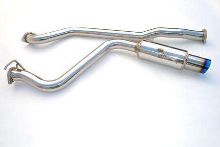Invidia 15+ Subaru WRX/STI Single Racing Titanium Tip Cat-back Exhaust