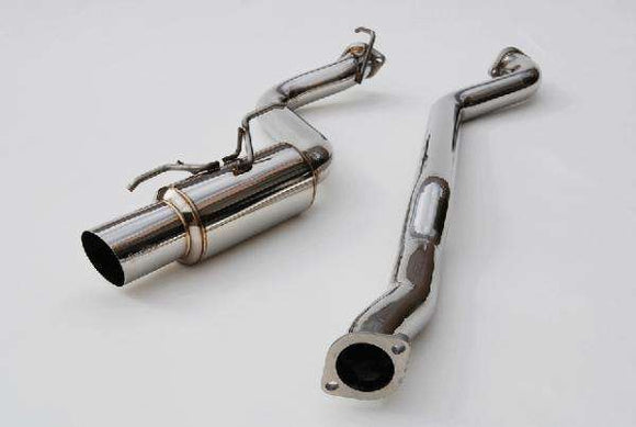 Invidia 15+ Subaru WRX/STI Single N1 Stainless Steel Tip Cat-back Exhaust