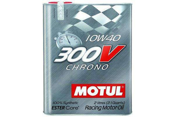Motul 2L Synthetic-ester Racing Oil 300V CHRONO 10W40