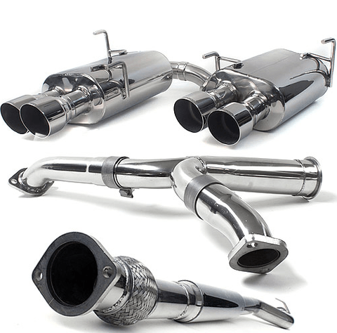 Perrin 11+ Subaru STi/WRX Sedan Brushed Cat-Back Exhaust