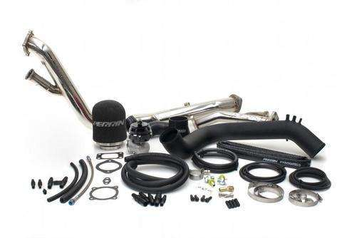 Perrin 08+ Subaru WRX/STi Black Rotated Turbo Tuner Kit