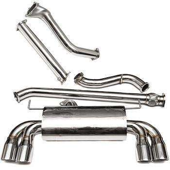 Turbo XS 08+ STI GT Catted Turboback Exhaust