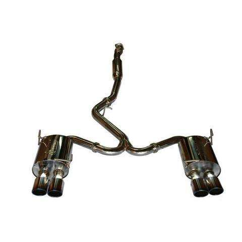 Turbo XS 11+ WRX STI Sedan Quad Tip Catback Exhaust