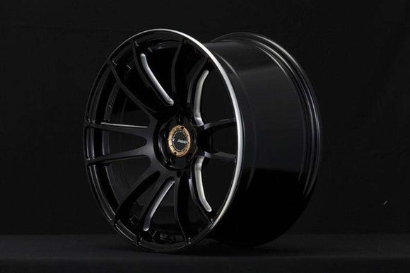Gram Lights 57XTREME 18X9.5 +40 5-100 BLACK (CJ Spec) (FR-S / BRZ)