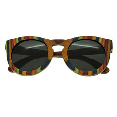 Spectrum Kekai Wood Polarized Sunglasses - Multi/Black