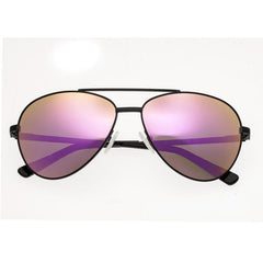 Bertha Bianca Polarized Sunglasses - Black/Pink