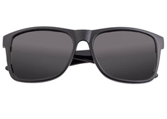 Sixty One Solaro Polarized Sunglasses - Black/Black