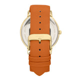 Simplify The 7200 Leather-Band Watch - Light Brown SIM7204