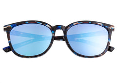 Bertha Piper Polarized Sunglasses - Blue Tortoise/Blue