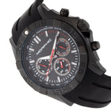 Morphic M75 Series Tachymeter Strap Watch w/Day/Date - Black MPH7506