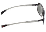 Breed Finlay Titanium Polarized Sunglasses - Black/Black BSG033BK