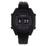 Morphic M76 Series Drum-Roll Strap Watch - Black MPH7606