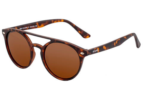Simplify Finley Polarized Sunglasses - Tortoise/Brown  SSU122-BN