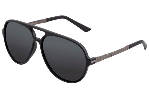 Simplify Spencer Polarized Sunglasses - Matte Black/Black SSU120-BN