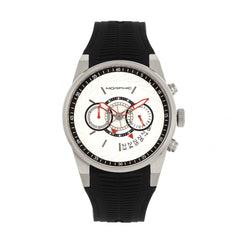 Morphic M72 Series Chronograph Men's Watch - Black/Silver