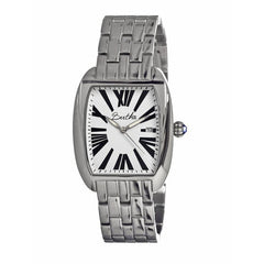 Bertha Anastasia Ladies Bracelet Watch w/Date - Silver/White