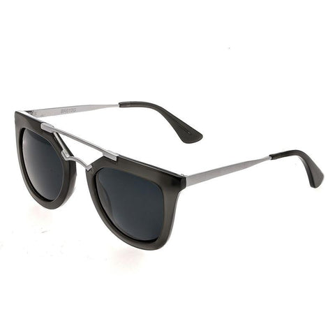 Bertha Ella Polarized Sunglasses - Grey/Black BRSBR010G