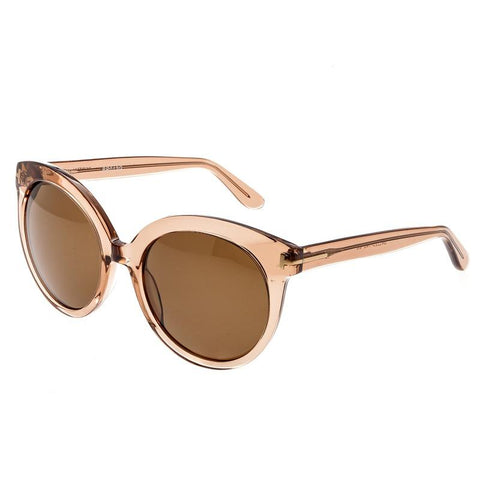 Bertha Violet Polarized Sunglasses - Rose/Brown BRSBR012G