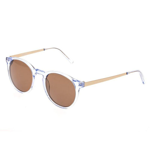 Bertha Hayley Polarized Sunglasses - Blue/Brown BRSBR014B