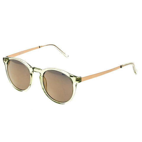 Bertha Hayley Polarized Sunglasses - Green/Gold BRSBR014G