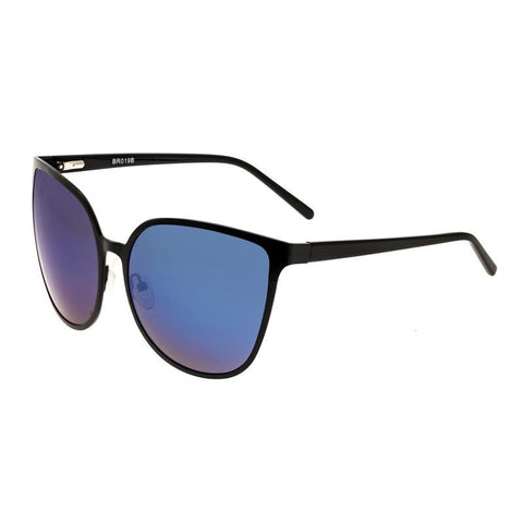Bertha Ophelia Polarized Sunglasses - Black/Purple-Blue BRSBR019B