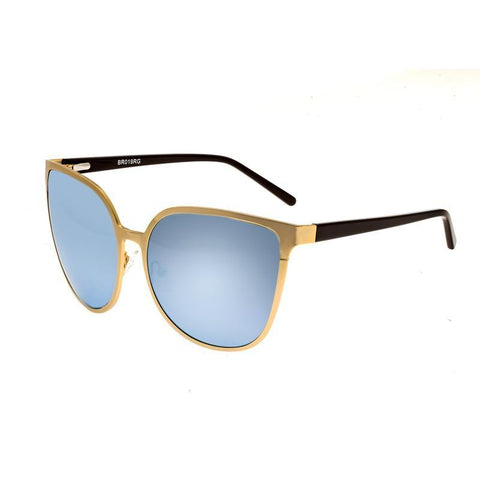 Bertha Ophelia Polarized Sunglasses - Gold/Celeste BRSBR019G