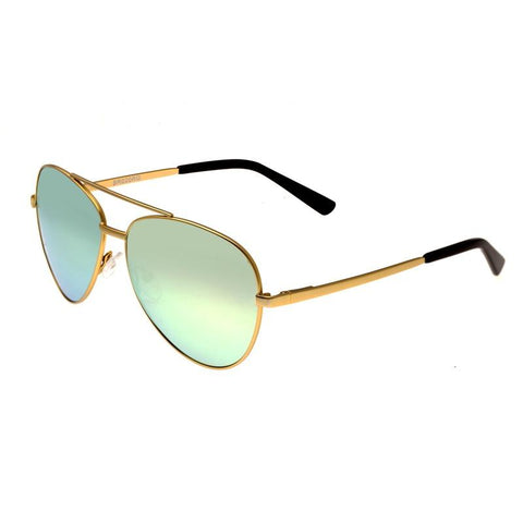 Bertha Bianca Polarized Sunglasses - Gold/Celeste-Gold BRSBR020G