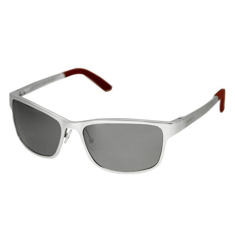 Breed Hydra Aluminium Polarized Sunglasses - Silver/Silver BSG022SR
