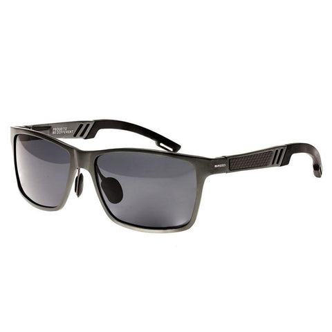 Breed Pyxis Titanium Polarized Sunglasses - Black/Black BSG024BK
