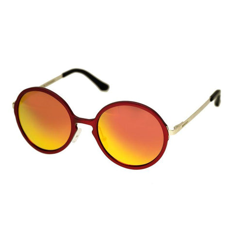 Breed Corvus Aluminium Polarized Sunglasses - Red/Red-Yellow BSG025RD