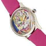 Bertha Annabelle Leather-Band Watch - Pink BTHBR9203