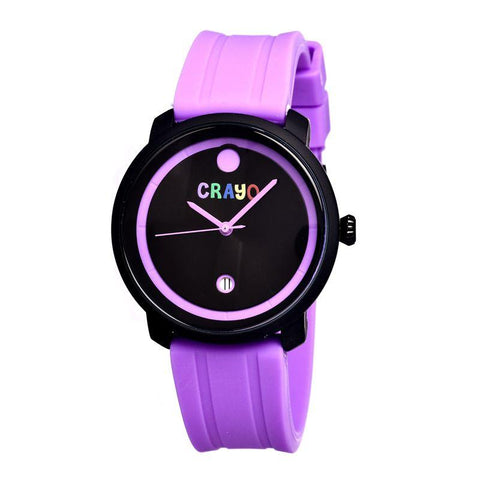 Crayo Fresh Unisex Watch w/Date - Fuchsia CRACR0307
