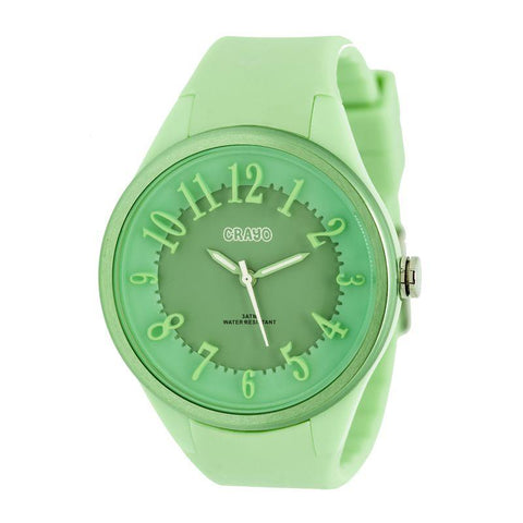 Crayo Burst Ladies Watch - Mint/Green CRACR3203