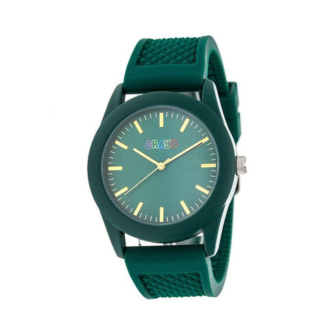 Crayo Storm Quartz Watch - Green CRACR3703