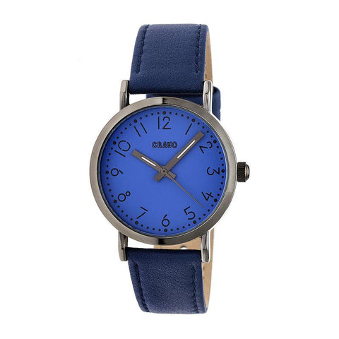 Crayo Pride Leather-BandWatch - Navy CRACR3805