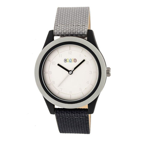 Crayo Pleasant Quartz Watch - Grey/Charcoal CRACR3908