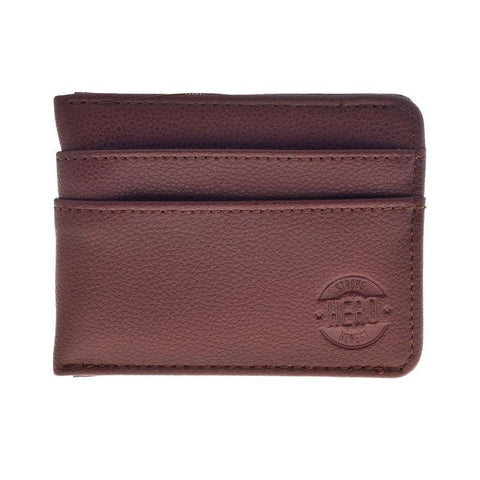 Hero Wallet Benjamin Series 510brn Better Than Leather HROW510BRN