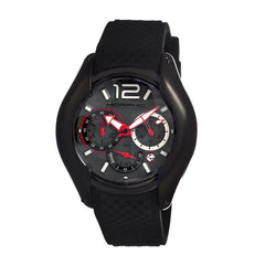 Morphic M3.5 Series Men's Chronograph Watch w/Date - Black/Grey