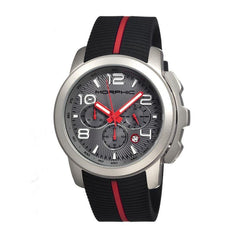 Morphic M22 Series Chronograph Men's Watch w/ Date - Silver/Grey
