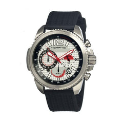 Morphic M28 Series Chronograph Men's Watch w/ Date - Silver
