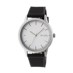 Simplify The 5200 Strap Watch - Silver