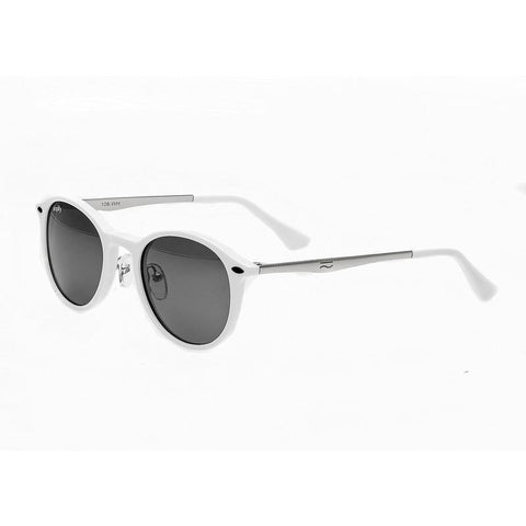 Simplify Reynolds Polarized Sunglasses - White/Black SSU108-WH