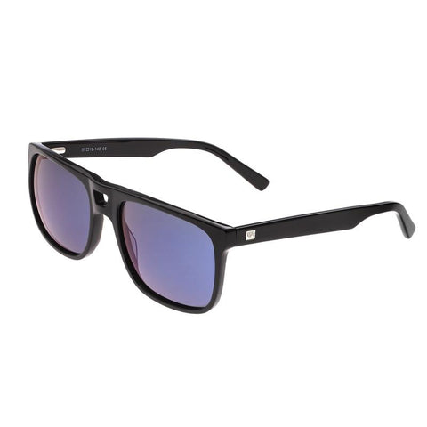 Sixty One Morea Polarized Sunglasses - Black/Purple-Blue SIXS134BL