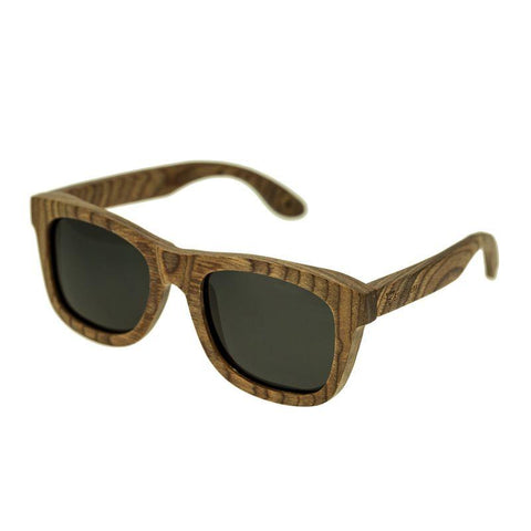 Spectrum Cipes Wood Polarized Sunglasses - Brown/Black SSGS102BK