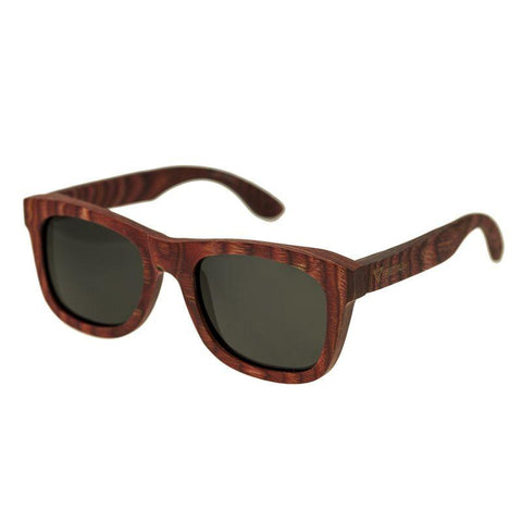 Spectrum Irons Wood Polarized Sunglasses - Cherry/Black SSGS105BK