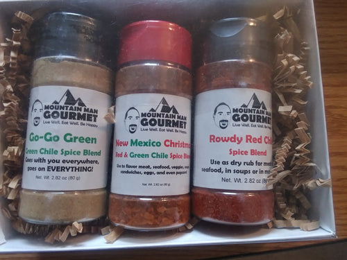 3-Pack Spice Blend Gift Box -- New Mexico Flavors