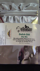 Delish Dill Dip Mix