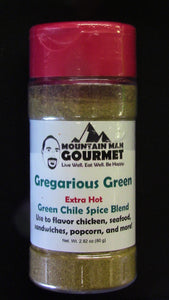Gregarious Green Chile Spice Blend