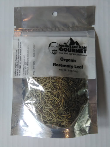Organic Dried Rosemary Leaves